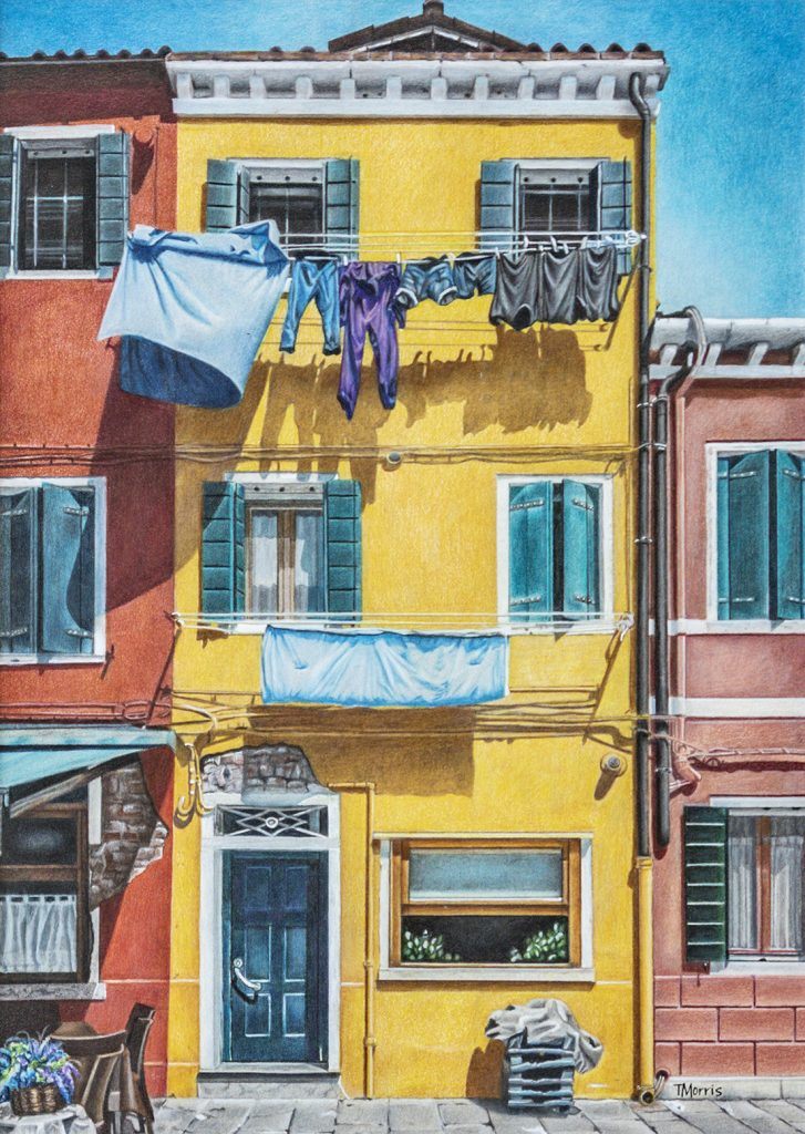 Laundry Day Theresa Morris