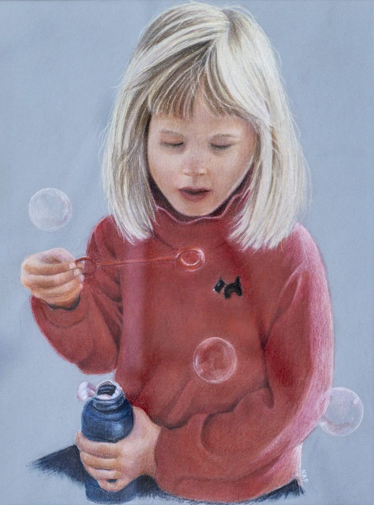 Three Bubbles Nancy Pugliano