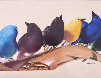 Murano Birds, Karen Brydon