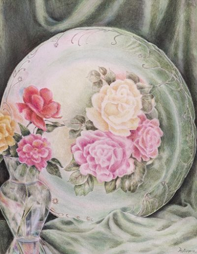 Mom's Plate, Autumn Huron